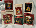 Hallmark Crayola Keepsake Christmas Ornaments Lot of 6 Ferris Wheel Move & Music