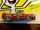 CUSTOM 1962 CHEVY PICKUP TRIX GENERAL MILLS HOT WHEELS 2013 REAL RIDERS 1 64