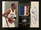 Jeff Green 2009-10 Upper Deck Exquisite 3 Color Patch Autograph 46 50 Auto