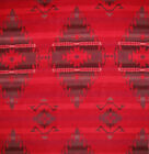 Ralph Lauren Red Mountain Native Western Pattern Fabric Remnant Sample