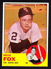 Nellie Fox Cards and Autographed Memorabilia Guide 22