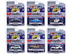 HOT PURSUIT SERIES 37 SET OF 6 POLICE CARS 1 64 DIECAST BY GREENLIGHT 42950