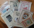 Lot of 50+ Vintage Quilting Patterns Quilts Novelties Toys 1980s