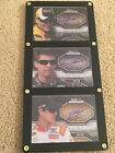 KYLE BUSCH DENNY HAMLIN JOEY LOGANO 2010 PRESS PASS SHOWCASE EXHIBIT INK AUTO #d