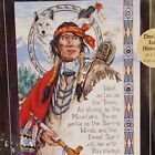 Native American Wisdom Dimensions Cross Stitch Kit Charts and Charms 72377 1996