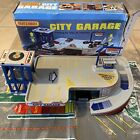 Matchbox 1983 City Garage Parking With Playmat And Box