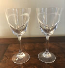 HOYA Crystal Wine Glasses with Heart boxed pair from Japan