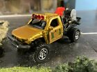 Matchbox Kitbash Off Road Fast Attack Fire Truck