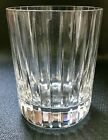 Baccarat Harmonie Triple Old Fashion Glass Signed Pre Owned