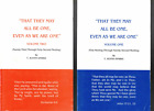 That They May All Be One Even As We Are One Vol 2 by T Austin Sparks
