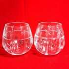 Christmas By Waterford Crystal Glass Holiday Votive Candle Holders Set of 2 Read