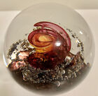 Magnificent Selkirk Scotland Eternal Art Glass Paperweight Signed 2005