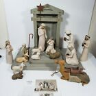 Willow Tree Nativity Figurines Willow Tree Christmas Used with boxes EUC