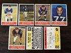 1964 Philadelphia Football Cards 12