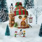 NEW DEPARTMENT 56 NORTH POLE SERIES BUILDING CHRISTMAS CHEER RETIRED FREE SHIP