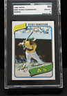 1980 Rickey Henderson SGC 8 MINT #482 - PSA 10 just sold for over $180,000!