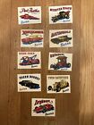 George Barris Sticker Collection Batman Green Hornet Pink Panther Munsters 9