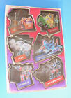 1984 HASBRO TRANSFORMERS G1 ATTACK PACK SWITCHABLE STICKERS N-MINT! JAZZ RUMBLE