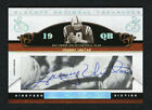 Johnny Unitas 2007 NT National Treasures Cuts 13 19 Auto Autograph Legendary SP