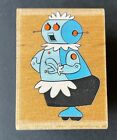 Rosie the Robot Maid The Jetsons Rubber Stamp Rubber Stampede Hanna Barbera