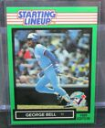 FS127 1989 Starting Lineup George Bell Card