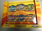 Matchbox Superfast Collector Tin Exclusive 2005 Decos with 6 cars