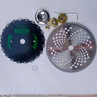 Alloy Chainsaw Blade Brush Cutter Blade Assembly for Lawn Mower Trimming Machine