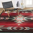 5x7 Ft Southwest Area Rug Geometric Southwestern Native American for Living Room