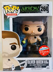 Funko Pop Arrow Oliver Queen Island Scarred Fugitive Toys exclusive w protector