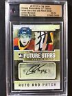2012-13 CONNOR McDAVID LEAF IN THE GAME CERTIFIED AUTOGRAPH PATCH CARD #20 24🔥