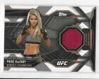 Paige VanZant Cards and Memorabilia Guide 20