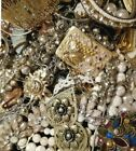 Jewelry Vintage Modern Huge Lot Craft Junk RestoreOver TWO Full Pound LBS