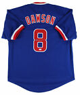 Andre Dawson Authentic Signed Blue Pro Style Jersey Autographed JSA Witness