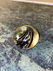 Beautiful Signed JANE CHARLES Art Glass PAPERWEIGHT SCULPTURE Wave Small