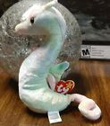 *Very Rare* Neon Seahorse Ty Beanie Baby 1999 Retired Authentic 1st Edition Cool