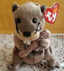 Ty Beanie Baby - LUMBERJACK the Beaver - New With Tags