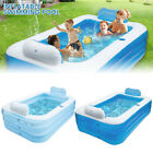 Large Family Swimming Pool Outdoor Garden Summer Inflatable Paddling Pools UK