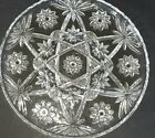 Mid Century Anchor Hocking EAPC Star Of David 4 PART SWIRL DIVIDED PLATE 11 Inch