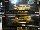 RC Hot Rod Magazine 24K Gold Plate Ford Woody  Ford Panel Truck 124 Scale MIB