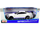 2020 FORD MUSTANG SHELBY GT500 WHITE 1 18 DIECAST MODEL CAR BY MAISTO 31452