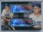 2006 Topps Co-Signers Johnny Podres Duke Snider DUAL AUTO AUTOGRAPH DODGERS