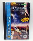 Flashback The Quest for Identity Sega CD 1993 CIB Complete Disc is Super Clean