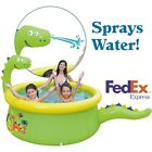 Family Swimming Garden Summer Inflatable Kids Adults Paddling Pool Play PVC Pool