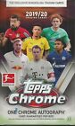 2019-20 Topps Bundesliga Chrome Soccer Sealed Hobby Box 18 Packs 1 Auto Per Box