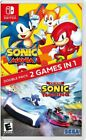 Sonic Mania + Team Sonic Racing Double Pack Nintendo Switch NSW Brand New