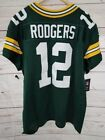 Aaron Rodgers Authentic Nike Green Bay Packers NFL Jersey Mens SZ 52 NEW in BAG