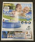 Intex 10 X 30 Easy Set Above Ground Swimming Pool W Filter Pump Ships Fast