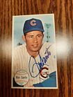 Ron Santo Chicago Cubs 1964 Topps Giants #58 Signed Auto JSA Certified Autograph