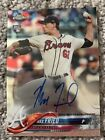 Max Fried 2018 Topps Chrome Auto RC Rookie Autograph