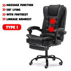 New Computer Office Gaming Swivel Chair Lifting Rotatable Armchair Footrest Adju
